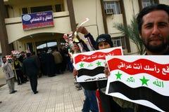 διαμαρτυρία του Ιράκ Στοκ Εικόνα