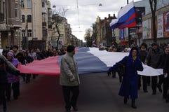Διαμαρτυρία Аntiauthority σε Kharkiv, Ουκρανία Στοκ φωτογραφίες με δικαίωμα ελεύθερης χρήσης