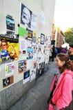 διαμαρτυρία Στοκ φωτογραφίες με δικαίωμα ελεύθερης χρήσης