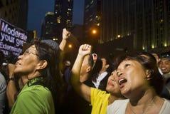 διαμαρτυρία στοκ φωτογραφία