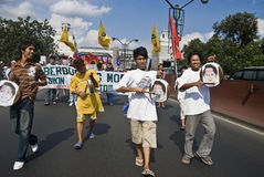 διαμαρτυρία στοκ εικόνα