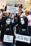 διαμαρτυρία Στοκ εικόνα με δικαίωμα ελεύθερης χρήσης