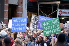 Διαμαρτυρίες ατού Στοκ Εικόνες