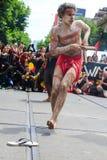 Διαμαρτυρίες ημέρας της Αυστραλίας ημέρας εισβολής στη Μελβούρνη Στοκ Εικόνα