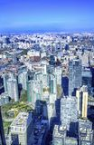 Διαμερίσματα Γκουάμ πύργων γραφείων εικονικής παράστασης πόλης Chaoyang σταδίων εργαζομένων Στοκ Φωτογραφίες
