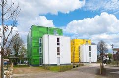 διαμερίσματα ζωηρόχρωμα Στοκ εικόνες με δικαίωμα ελεύθερης χρήσης