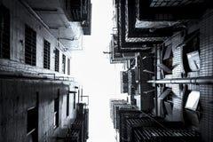 Διαμερίσματα κατοικιών Shenzhen στην πόλη Στοκ Φωτογραφίες