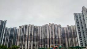 Διαμερίσματα σε Noida Στοκ φωτογραφία με δικαίωμα ελεύθερης χρήσης