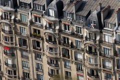 Διαμερίσματα του Παρισιού Στοκ εικόνα με δικαίωμα ελεύθερης χρήσης