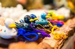 Διαμορφωμένα πάπια φλάουτα Στοκ εικόνες με δικαίωμα ελεύθερης χρήσης