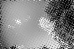 Διαμορφωμένα περίληψη κεραμίδια σε γραπτό Ελεύθερη απεικόνιση δικαιώματος