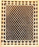 Διαμορφωμένη κηρήθρα κάλυψη παραθύρων. Στοκ εικόνα με δικαίωμα ελεύθερης χρήσης