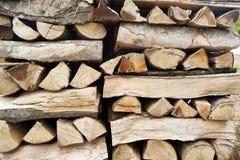 Διαμορφωμένη ξύλινη αποθήκη εμπορευμάτων στοκ εικόνες