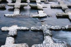 Διαμορφωμένοι σταυρός βράχοι στοκ φωτογραφία με δικαίωμα ελεύθερης χρήσης