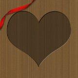διαμορφωμένος καρδιά βα&lambd διανυσματική απεικόνιση