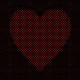 Διαμορφωμένο καρδιά υπόβαθρο σχεδίων γραφικό από τις κόκκινες καρδιές στοκ φωτογραφίες