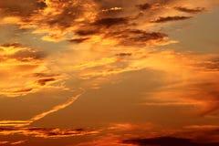 Διαμορφωμένο καρδιά σύννεφο στοκ φωτογραφία με δικαίωμα ελεύθερης χρήσης