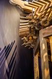 Διαμορφωμένο περίπτερο ράφι Στοκ Φωτογραφίες