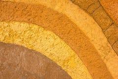 Διαμορφωμένο στρώμα του χώματος αργίλου για το υπόβαθρο Στοκ φωτογραφίες με δικαίωμα ελεύθερης χρήσης