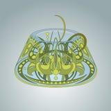 Διαμορφωμένο φανταστικό πλάσμα Cthulhu Στοκ φωτογραφία με δικαίωμα ελεύθερης χρήσης