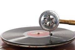 διαμορφωμένο gramophone παλαιό πα&iota στοκ εικόνες με δικαίωμα ελεύθερης χρήσης