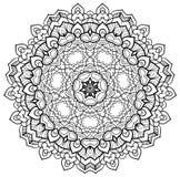 Διαμορφωμένο mandala Στοκ εικόνες με δικαίωμα ελεύθερης χρήσης