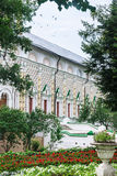 Διαμορφωμένο Refectory διακοσμήσεων τοίχων, τριάδα-Sergius Lavra τριάδα του ST sergius της Ρωσίας μοναστηριών posad sergiev Στοκ εικόνα με δικαίωμα ελεύθερης χρήσης