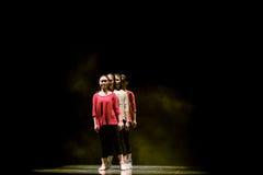 Διαμορφώστε έναν γραμμή-σύγχρονο χορό Στοκ φωτογραφία με δικαίωμα ελεύθερης χρήσης