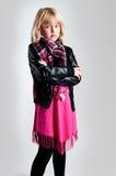 διαμορφώστε το κορίτσι Στοκ φωτογραφίες με δικαίωμα ελεύθερης χρήσης