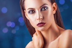 διαμορφώστε makeup στοκ φωτογραφίες με δικαίωμα ελεύθερης χρήσης