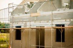 Διαμόρφωση ενός σπιτιού στοκ φωτογραφία με δικαίωμα ελεύθερης χρήσης