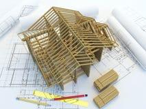 Διαμόρφωση της νέας βασικής κατασκευής Στοκ Φωτογραφίες