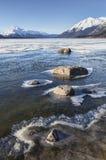 Διαμόρφωση του πάγου στο Chilkat Στοκ Εικόνες