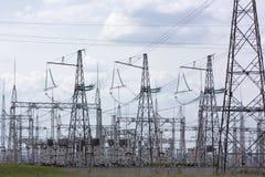 διανεμητικός ηλεκτρικό&sigmaf Στοκ φωτογραφία με δικαίωμα ελεύθερης χρήσης