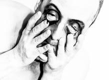 Διανοητηκή διαταραχή Στοκ Εικόνες