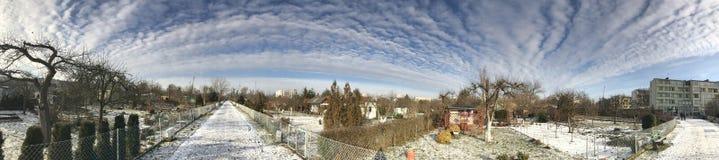 Διανομές το χιονώδη χειμώνα Στοκ φωτογραφία με δικαίωμα ελεύθερης χρήσης