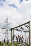 Διανομή της ενέργειας Στοκ εικόνα με δικαίωμα ελεύθερης χρήσης