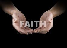 Διανομή της πίστης με σας Στοκ φωτογραφίες με δικαίωμα ελεύθερης χρήσης