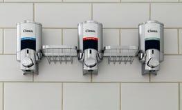 Διανομείς σαπουνιών Στοκ εικόνα με δικαίωμα ελεύθερης χρήσης