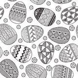 Διανυσματικά άνευ ραφής αυγά Πάσχας σχεδίων Στοκ εικόνες με δικαίωμα ελεύθερης χρήσης