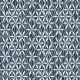 Διανυσματικά άνευ ραφής γεωμετρικά λουλούδια σχεδίων Στοκ Φωτογραφίες