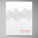 Διανυσματικά άσπρα τετράγωνα. Περίληψη backround Στοκ Εικόνες