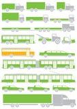 Διανυσματικά αυτοκίνητα Στοκ Εικόνες