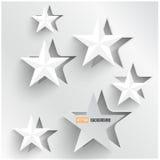 Διανυσματικά αφηρημένα αστέρια υποβάθρου. Σχέδιο Ιστού Στοκ Φωτογραφίες