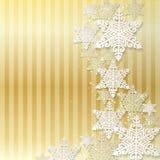 Διανυσματικά αφηρημένα Χριστούγεννα απεικόνισης και νέο υπόβαθρο έτους Στοκ Εικόνες