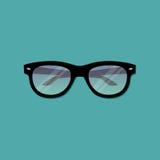 Διανυσματικά γυαλιά Απεικόνιση αποθεμάτων