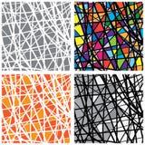 Διανυσματικά λεκιασμένα σχέδιο κομμάτια χρώματος γυαλιού Στοκ φωτογραφία με δικαίωμα ελεύθερης χρήσης