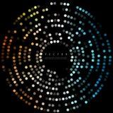 Διανυσματικά ζωηρόχρωμα σημεία abstract background circles Στοκ Εικόνα