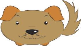 Διανυσματικά ζώα, σκυλί Στοκ εικόνες με δικαίωμα ελεύθερης χρήσης