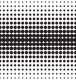 Διανυσματικά ημίτοά σημεία Μαύρα σημεία στο άσπρο υπόβαθρο Στοκ Φωτογραφίες